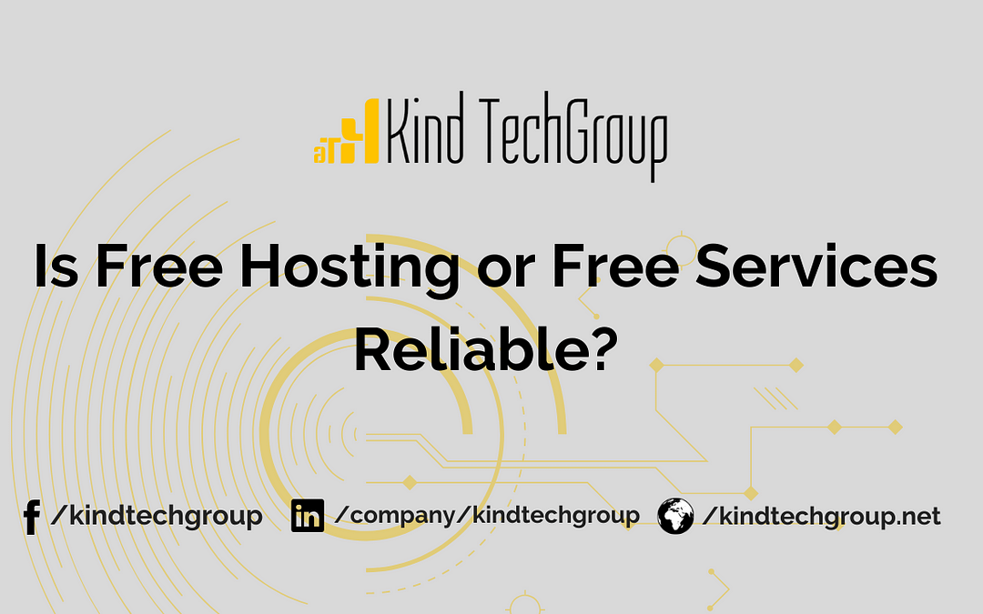 Is Free Hosting Service Reliable?