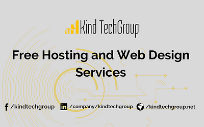 Free Hosting and Web Design Services