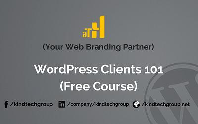 WordPress Training 101
